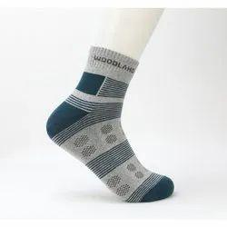 Woodland BD 162 Printed Mid Length Men's Socks