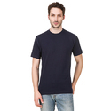 Mens Plain Blue T-Shirt