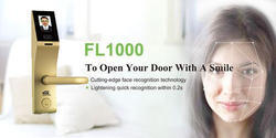 ESSL Zinc Alloy Fl1000 Smart Intelligent Face Door Lock