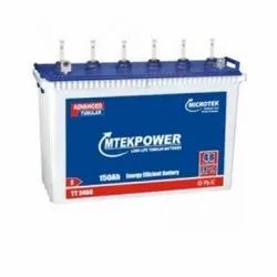 Microtek Mtekpower 150AH Battery