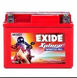 Exide Bike Battery, Capacity: 5 lb 12 V