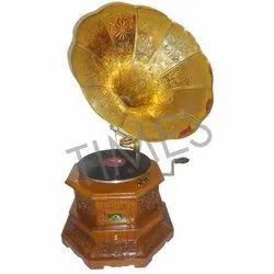 Antique Carving Corner Style Gramophone