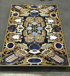 Inlay Marble Dining Table