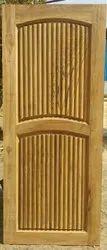 Made Royals Finished Teak Wood Door, For Home