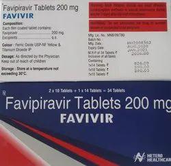 Favivir  Favipiravir 200 mg Tablets