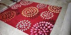 Rust Ecg Wool/Viscose Carpets
