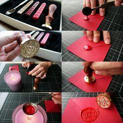Marriage Card Wax Seal