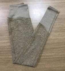 Fit Pant Plain Ladies Lower, Size: Free Size