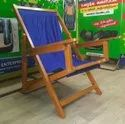 Traditional Wooden Easy Chair