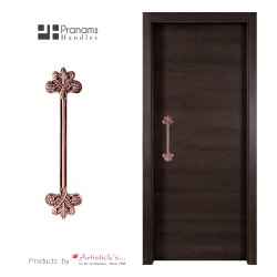 Copper Door Handle