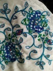 Velvet Embroidered Fabric