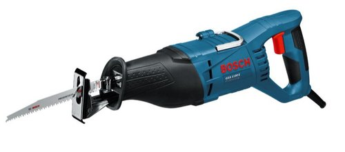 Bosch GSA 1100 E Sabre Saws 230mm, 1100W, 2700 SPM