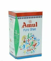 Amul Ghee 1 Ltr Carton  Mrp 480rs/ Selling Price 430rs/