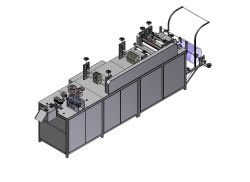 PNW 21 Non Woven Bouffant Cap Machine, Production Capacity: 80-100