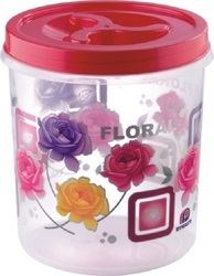 Printed Airtight Plastic Container 7500 ml