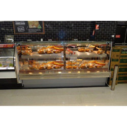 Silver SS Food Display Counter