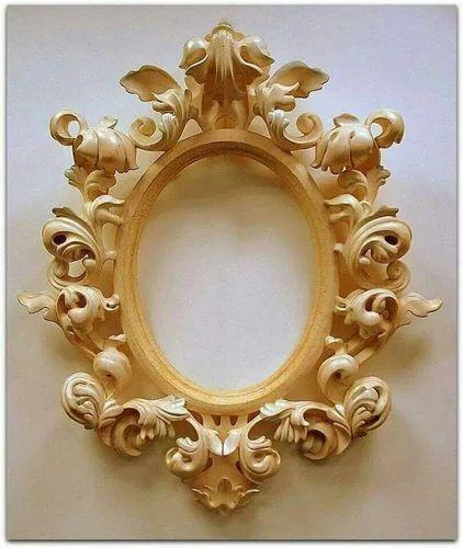 fancy mirror frame. Wooden Fancy Mirror Frame N