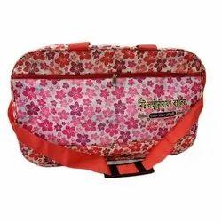 Adjustable Nylon Printed Promotional Travel Bag, Capacity: 15 kg