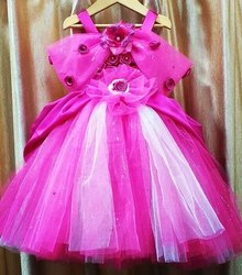 Lovely Pink Color Cinderella Princess Gown
