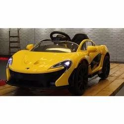 2 Electric Motor Yellow Kids Ride On Battery Operated Sports Car, Model Name/Number: Z672, Vehicle Model: Mclaren Sportsccar