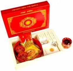 Red Karwachauth Premium Pooja Box