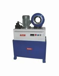 Flexon Make Horizontal Type Hydraulic  Hose Crimping Machine