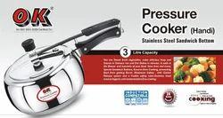 Stainless Steel Handi Shape 3.0 Ltr Pressure Cooker