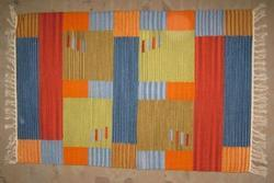 Rectangle Hand Knotted Cotton Rugs