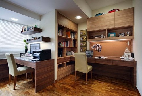 Study Room Interior Design, Area / Size: 1000 Sqrft