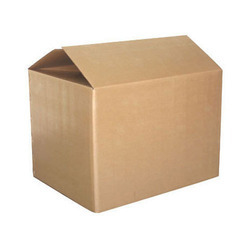 5 Ply Brown Plain Corrugated Boxes