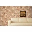 Brown Ceramic Interlock Wall Tiles, Thickness: 7.5 Mm, Size: 2 X 4 Feet