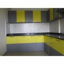 Egfern Wooden Modular Kitchen Cabinets Designing Service, Size/Dimension: 12x6 Inch