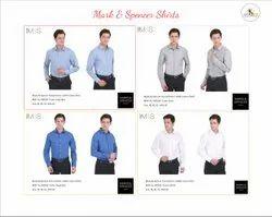 100% Cotton Full Sleeves Mark & Spencer Shirts