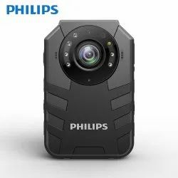 PHILIPS VTR8400 64GB Ambarella A7 Wifi Wireless Police Video Body Worn Camera 4G with GPS Support Bl