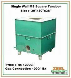 Single Wall MS Square Tandoor