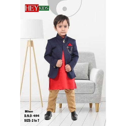 0c67c8e48 Blue Party Wear Boys Suit