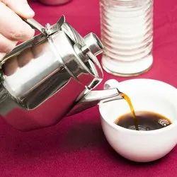 Stainless Steel 20 Oz Gooseneck Serving Milk Tea Pot
