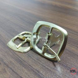 20mm Mild Steel Square Buckles Golden