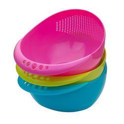 Round Plastic Fruit Basket