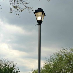 Round Lighting Pole