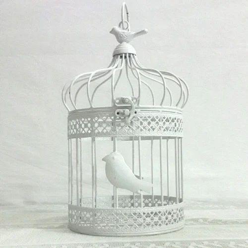 Decorative White Cage