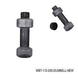 Dumbbell Sports Sipper Bottle WBT-112