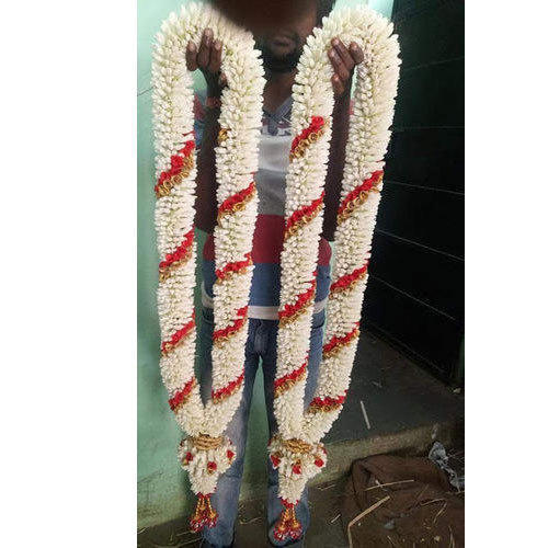 White Flower Garland At Rs 5500 Pair Smm Exports Imports