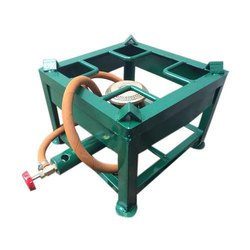 Commercial SS Single Burner Gas Bhatti for Hotel, Restaurant