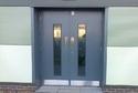 Double Steel Security Door, Size:2060x1180x70mm