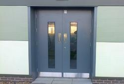Double Steel Security Door