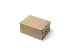 Kraft Three Pastry Box
