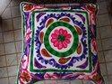 Bohemian Suzani Cushion Cover