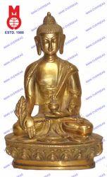 Lord Buddha Sitting Medicine Plain Statue