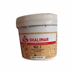 Shalimar Acrylic Distemper Paint, Packaging: 20 L